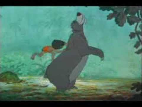 Misc Cartoons - Jungle Book - Bare Necessities