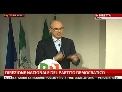 intervento di Renato Soru alla Direzione nazionale del PD
