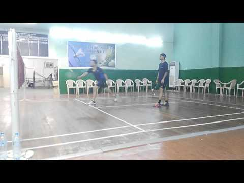 Qatar Badminton Academy friendly match