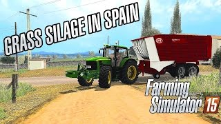 Grass silage in Spain - Farming Simulator 2015