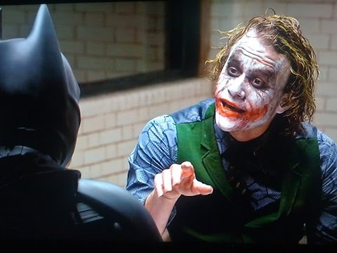 """The Dark Knight"" Best Scene HD"
