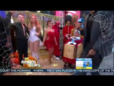 Ginger Zee - Halloween costume - leggy -  October 31, 2014