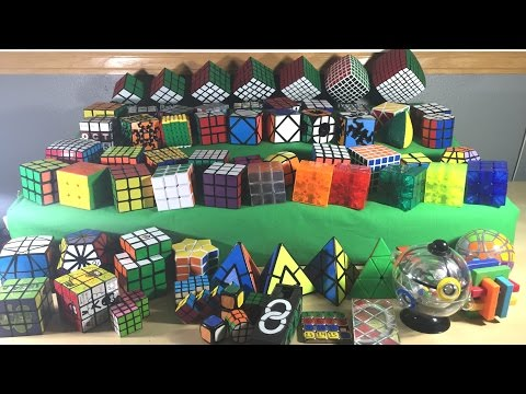 [NEW] Rubik's Cube Collection | End of 2015 | 60+ Cubes