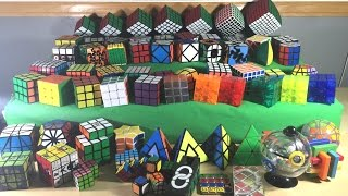 [NEW] Rubik's Cube Collection   End of 2015   60+ Cubes