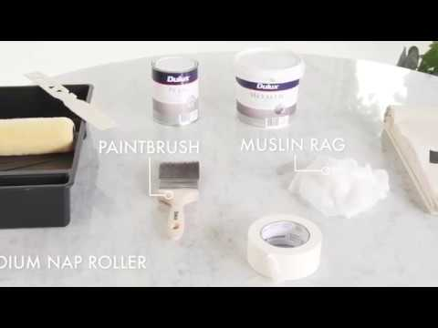How to use Dulux Metallic & Pearl Effect