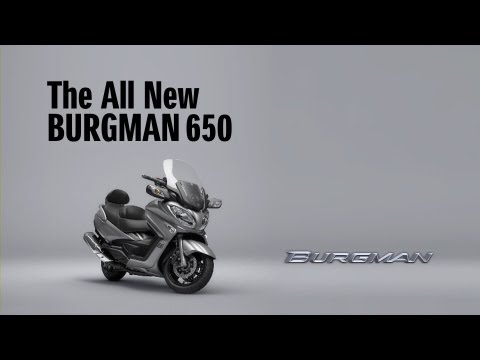 2013 SUZUKI BURGMAN 650/Executive Technical Overview