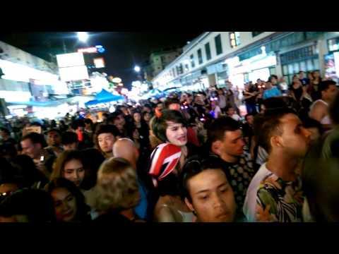 Tajlandia 2015 Khao San Road Halloween Party Bangkok - Listopad