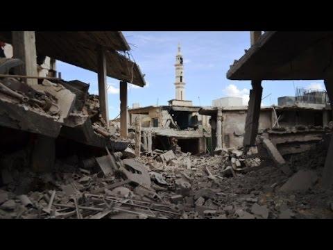 Video shows Russian airstrikes thumbnail