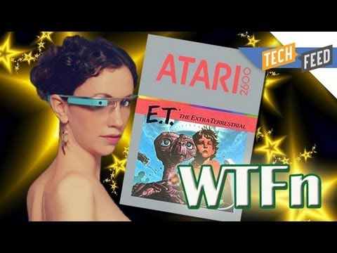 WTFn: Google Glass Porn Ban, Sean Parker's Wedding, and the Atari Landfill