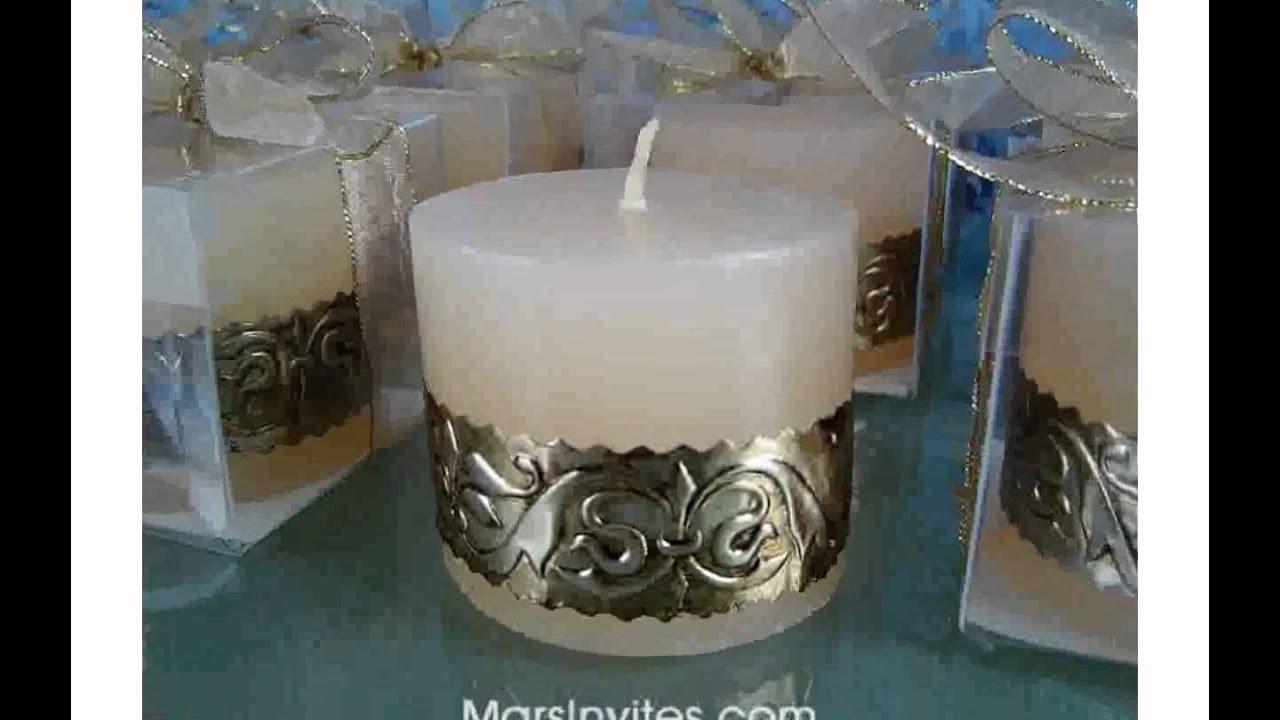 Velas para bodas youtube - Como decorar velas ...