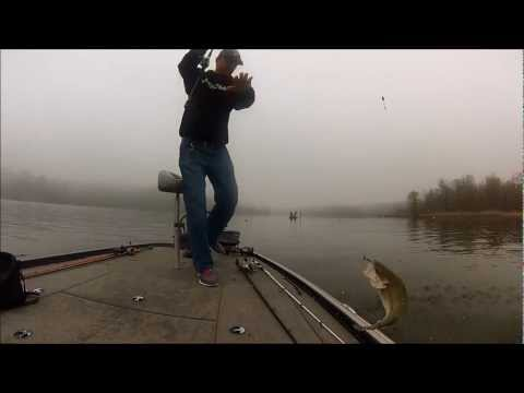 Toledo Bend January 2013 - Prespawn Bass - Damiki Tremor
