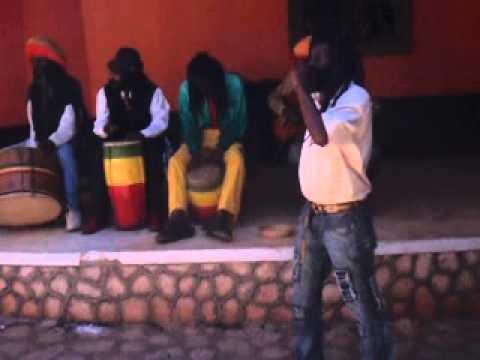 Captain Crazy Singing Bob Marley in Jamaica at Nine Mile