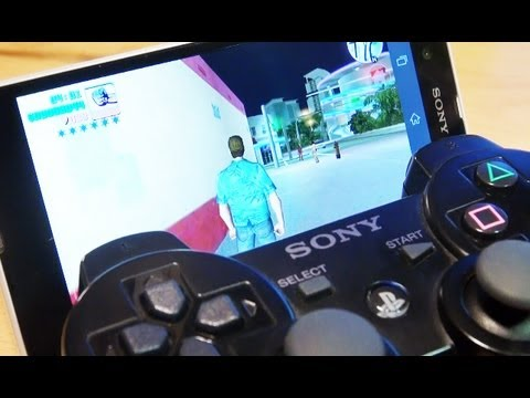 SONY XPERIA Z PS3 Controller Connectivity