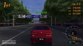 Gran Turismo 3 A-Spec PS2   Tokyo R246   Alfa Romeo 156 2.5 V6 24V '98