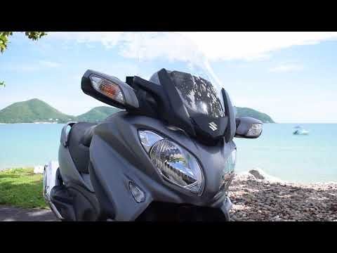 Review 2017 Suzuki Burgman 650 by OverRide