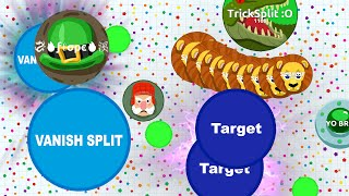 Agar.io - AGARIO SOLO VS TEAM // AGARIO VANISHSPLIT (Agar.io Gameplay, Highlights)