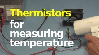 Thermistor for measuring/controlling temperature