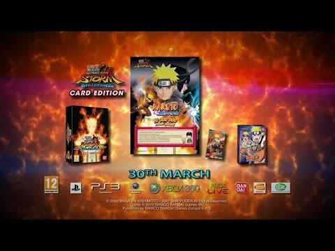 Naruto Shippuden Ultimate Ninja Storm Generations: Card Edition(unboxing em PT-BR)