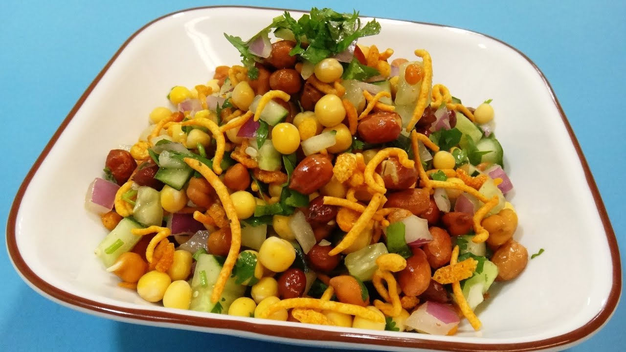 Chaat Masala - Spicy Indian Salad - Indian Cuisine - YouTube