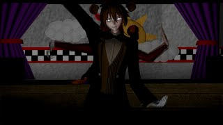 FNAF ECHO MMD Freddy Foxy and Bonnie (by boy Gumi & Kaito)