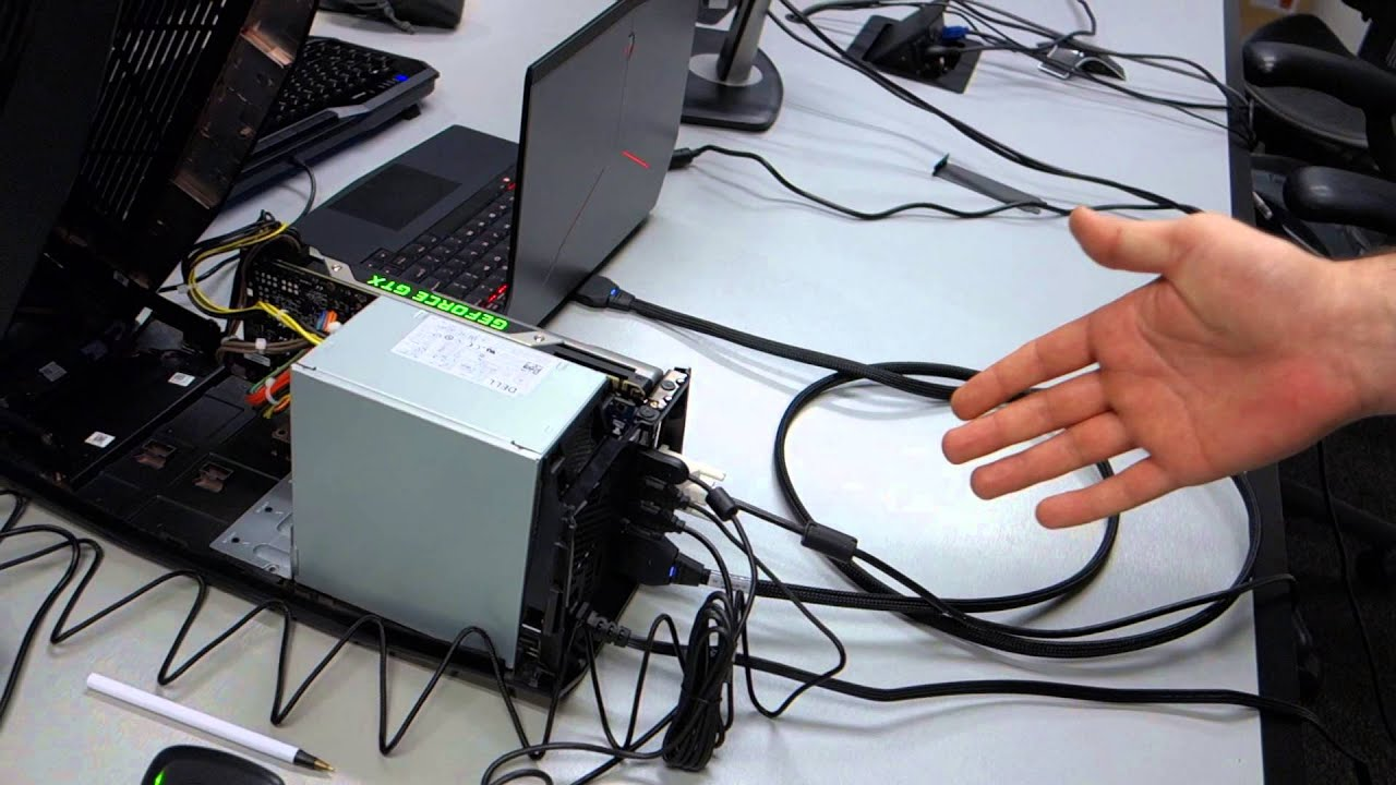 Using Laptop Use Desktop Gpu in Laptop