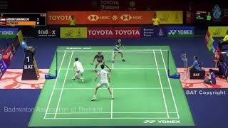 Round16 | MD | GIDEON / SUKAMULJO(INA) vs OU Xuan Yi/ZHANG Nan(CHN)