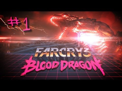 Farcry 3 Blood Dragon DLC MLG Playthrough Part 1