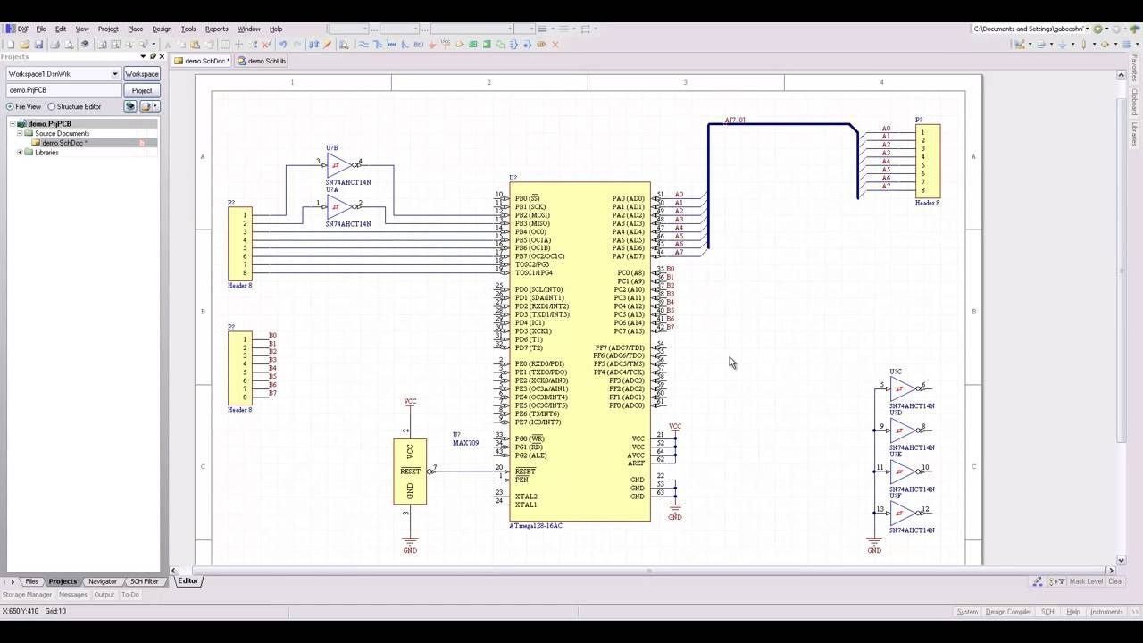 Free Electronics Resouces Schematics Tutorials 1389109 Schematicrev4 Tutorialselectronics Basic And Advanced Hobby Projectscircuit Design Software Download Amp