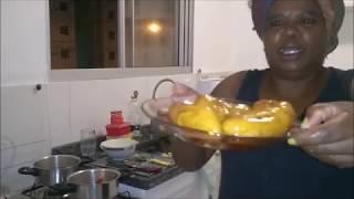 Banana caramelizada muito diferente