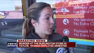 Female worker allegedly shoots, kills coworker at Burlington Coat Factory in Taylor