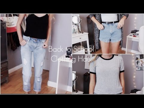 Back to School Clothing Haul 2014! | ZaraForever