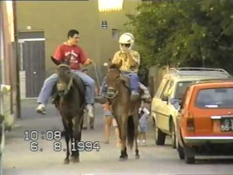 muxagata corrida de burros 1994