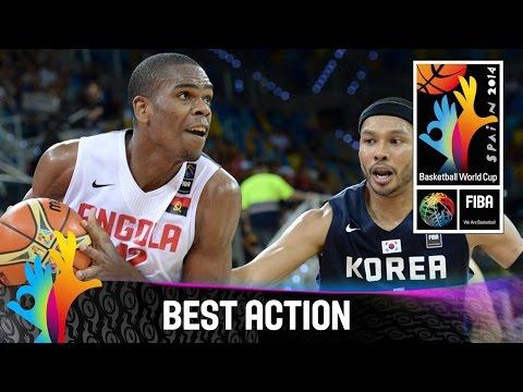 Angola V Korea - Best Action - 2014 Fiba Basketball World Cup video