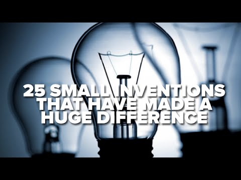 25 Small Inventions That Have Made A Huge Difference