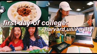first day of college: harvard university! + a few days after that