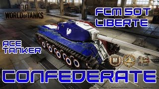 World of Tanks // FCM 50t Liberte // Ace Tanker // Confederate // Xbox One