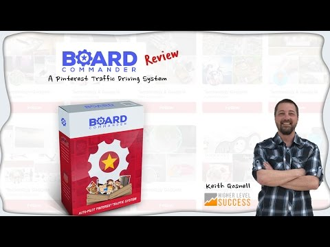Board Commander Review - A Pinterest Traffic Building System
