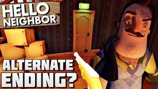 ALTERNATE ENDING? SHOOTING NEIGHBOR!? | Hello Neighbor Gameplay (NEW UPDATE)