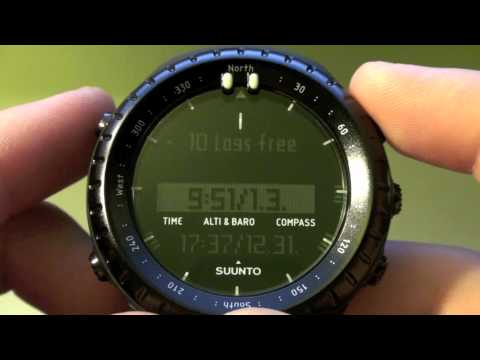 "Suunto Core All Black ""Military"" Review (Part 2)"