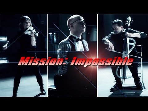 Mission Impossible (piano cello violin) Ft. Lindsey Stirling - Thepianoguys video