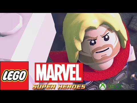 LEGO: Marvel Super Heroes - Bifrosty Reception - Part 8 (Xbox One)