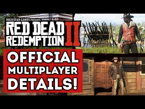 Red Dead Redemption 2 - First OFFICIAL Multiplayer Details! Online Camps! New Gameplay info!