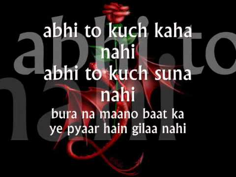 Abhi Na Jao Chod Kar -lyrics.wmv video