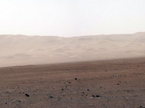 Strange Feature on Mars in New Curiosity Rover Images   Full HD Video   NASA JPL MSL