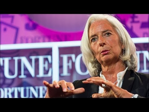 Christine Lagarde: You Have to Pick Your Fights and Really Persist
