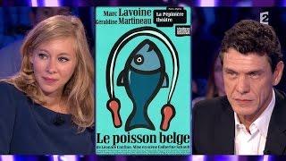 Marc Lavoine & Géraldine Martineau - On n'est pas couché 26 septembre 2015 #ONPC