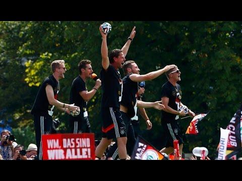 El festejo de la selección alemana que se burla de la Argentina