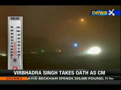 Cold wave grips North India - NewsX