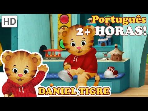 Daniel Tigre em Português - 2 Horas De Daniel Tigre (HD - Episódios Completos)