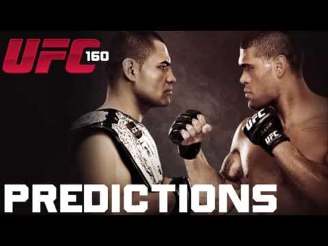 UFC 160 Predictions